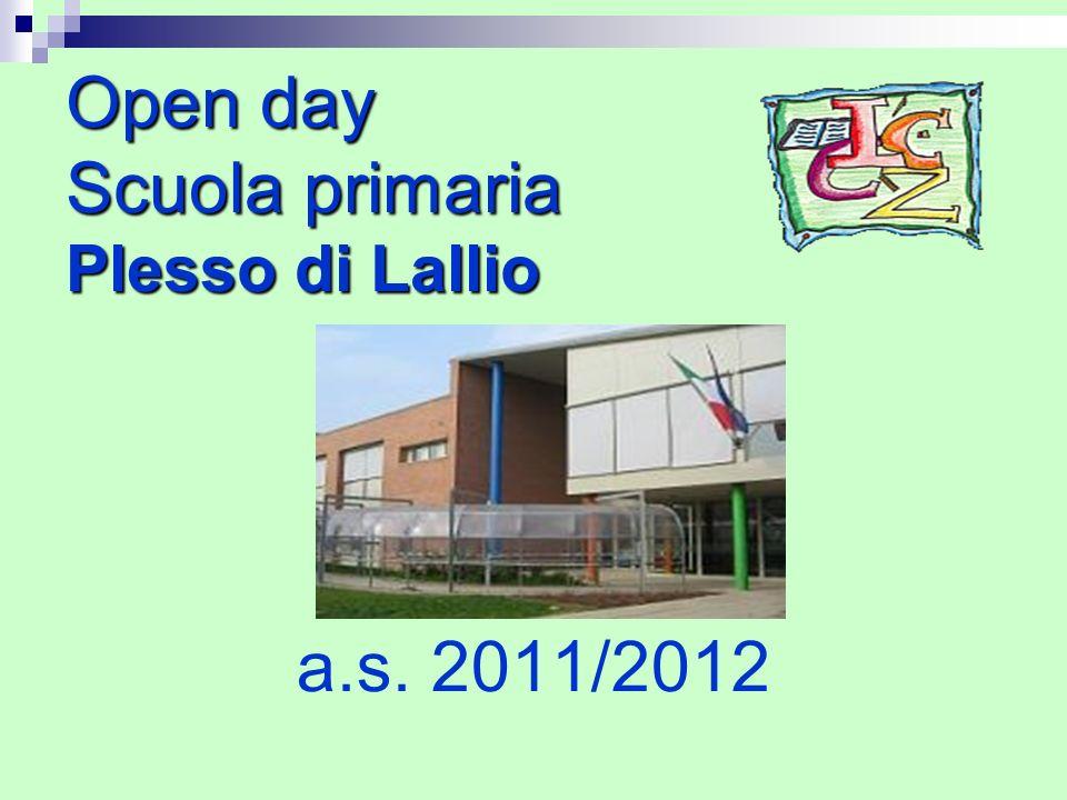 Open day Scuola primaria Plesso di Lallio