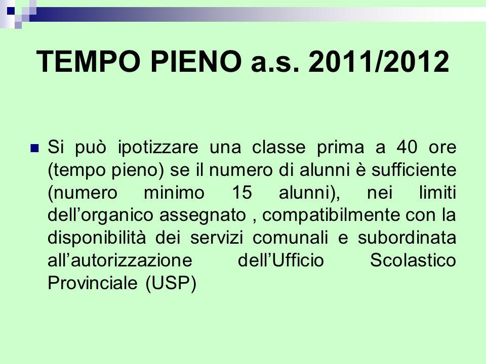 TEMPO PIENO a.s. 2011/2012