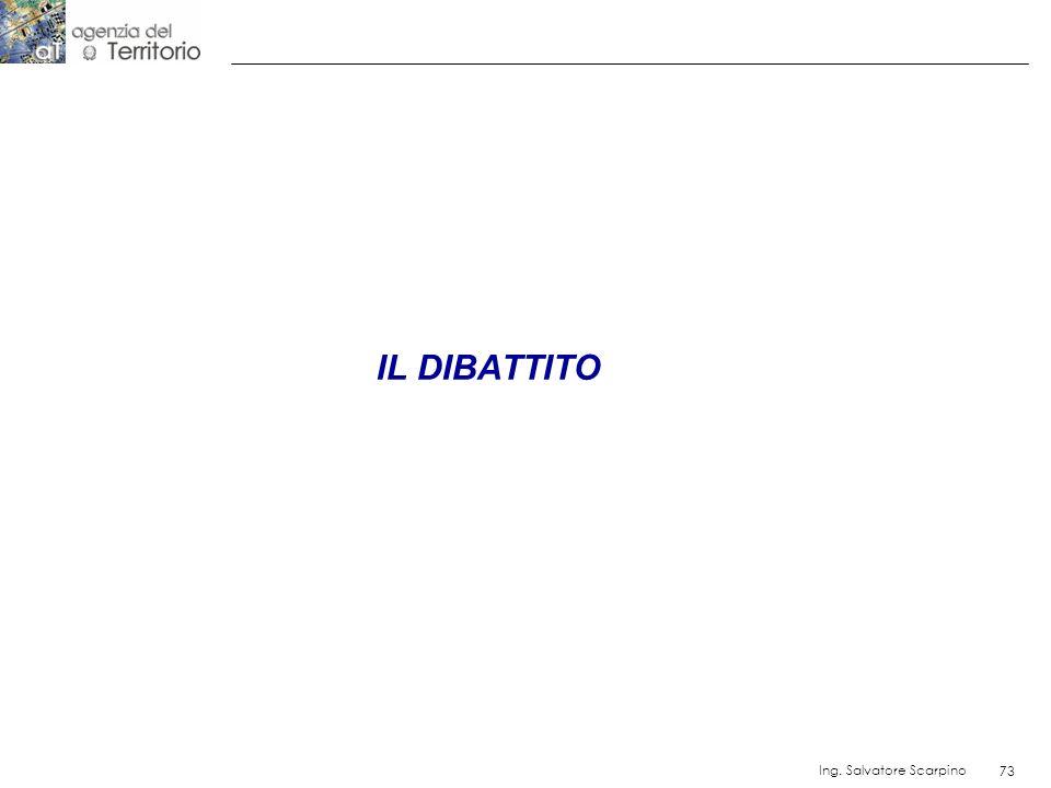 IL DIBATTITO Ing. Salvatore Scarpino