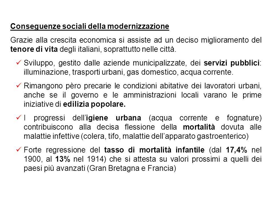 Conseguenze sociali della modernizzazione