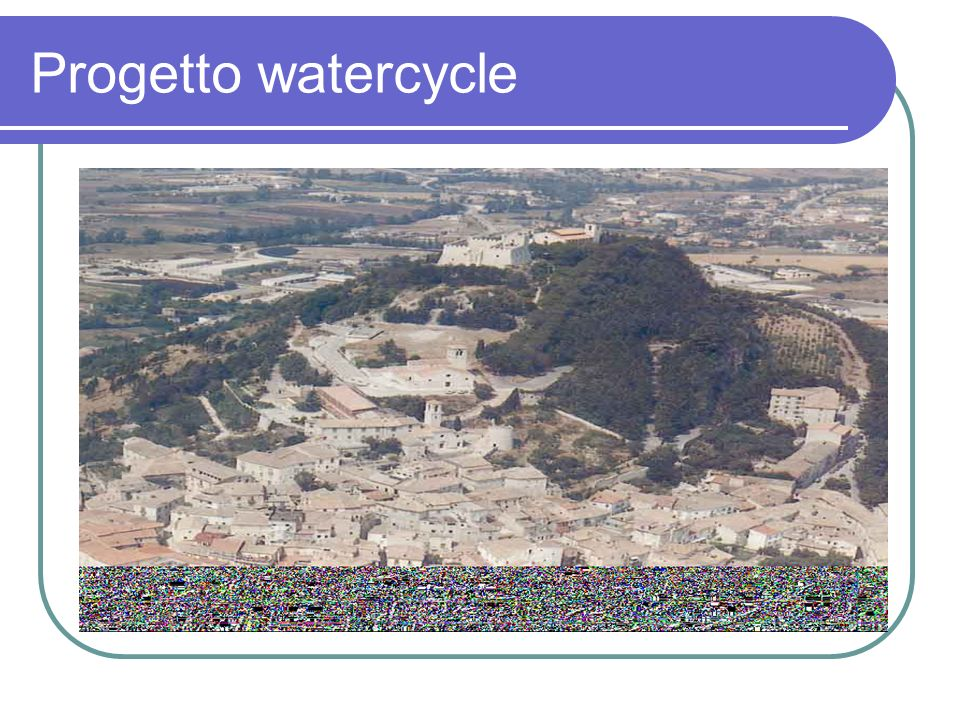 Progetto watercycle