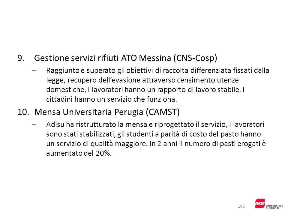 9. Gestione servizi rifiuti ATO Messina (CNS-Cosp)