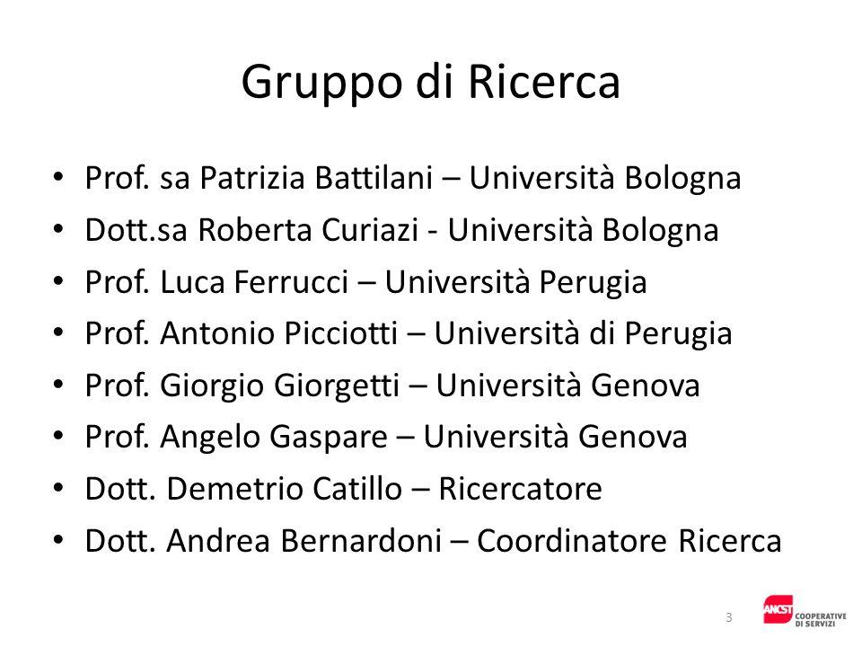 Gruppo di Ricerca Prof. sa Patrizia Battilani – Università Bologna