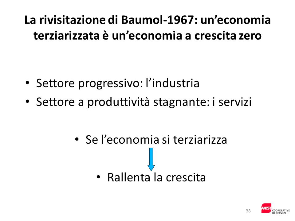 Se l'economia si terziarizza