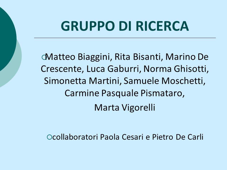 collaboratori Paola Cesari e Pietro De Carli