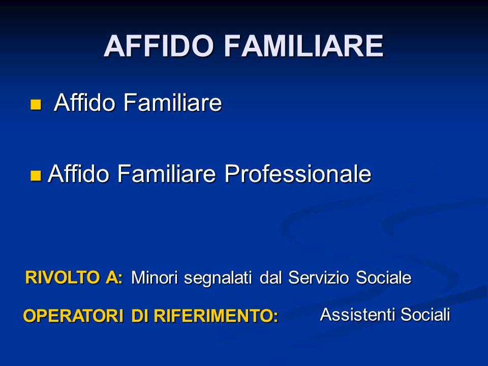 OPERATORI DI RIFERIMENTO: