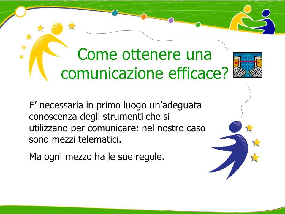 Come ottenere una comunicazione efficace