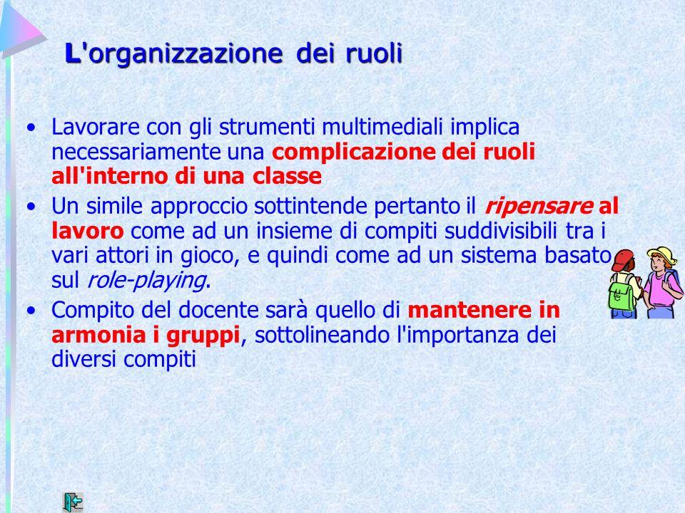 L organizzazione dei ruoli