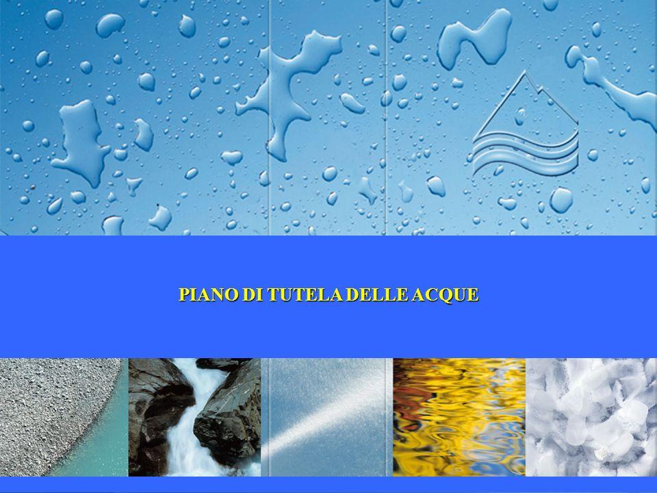 PIANO DI TUTELA DELLE ACQUE