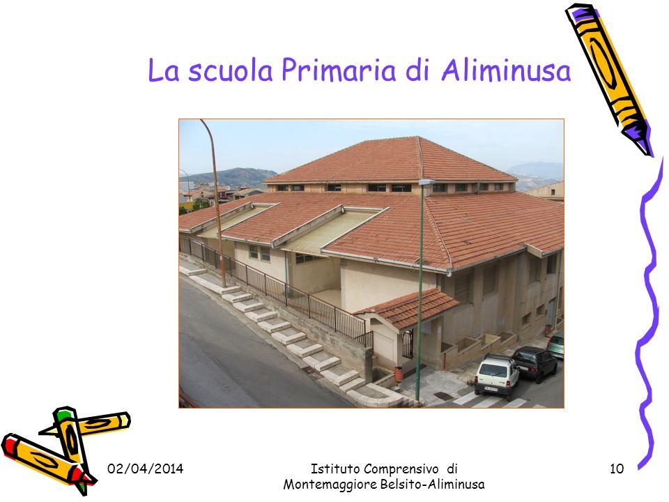 La scuola Primaria di Aliminusa