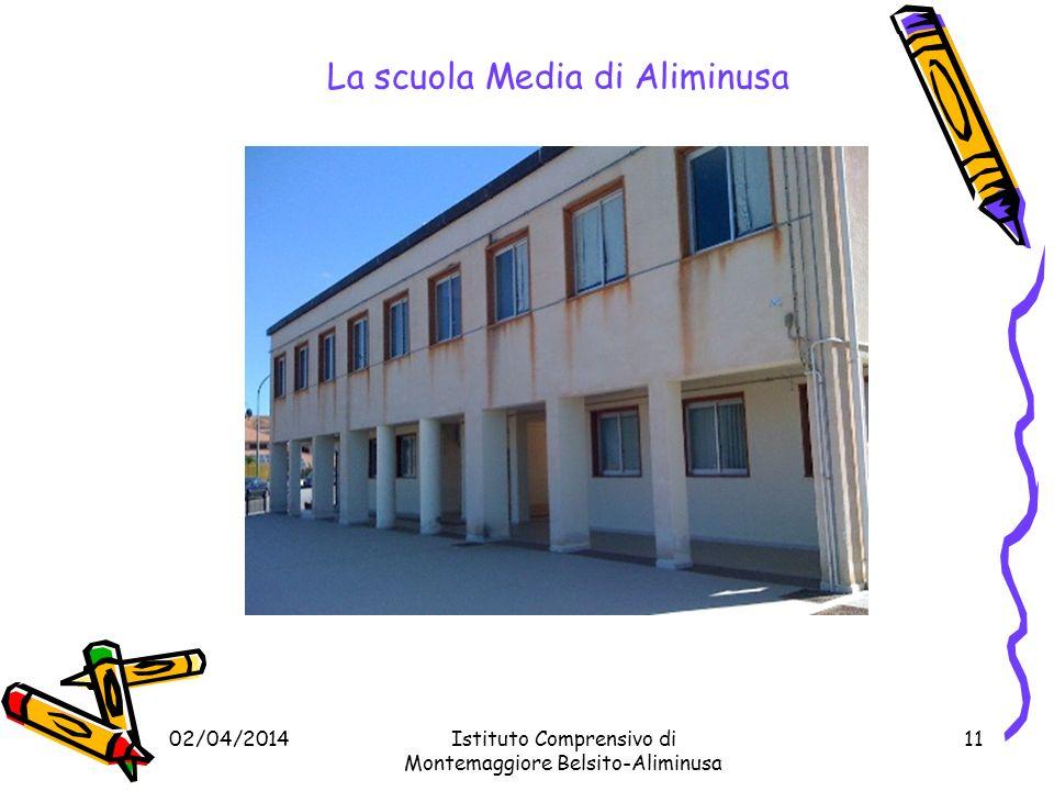 La scuola Media di Aliminusa