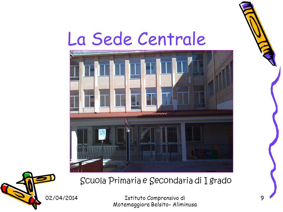 La Sede Centrale Scuola Primaria e Secondaria di I grado 29/03/2017