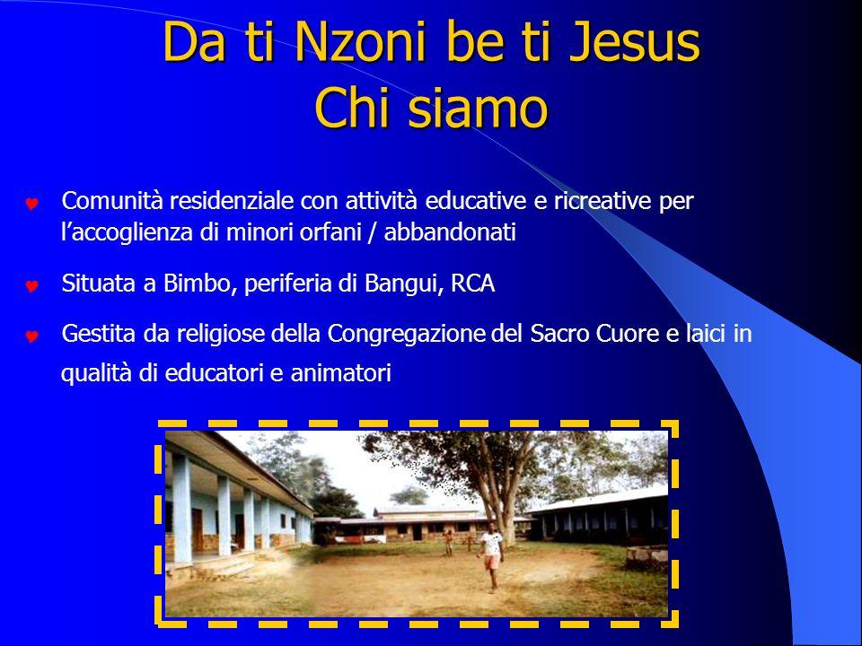 Da ti Nzoni be ti Jesus Chi siamo