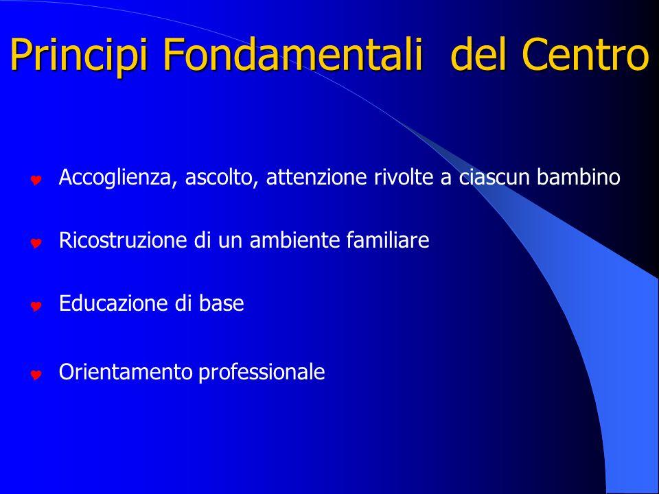 Principi Fondamentali del Centro
