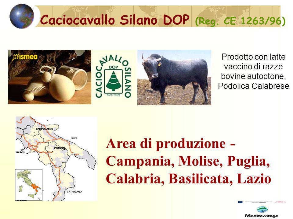 Caciocavallo Silano DOP (Reg. CE 1263/96)