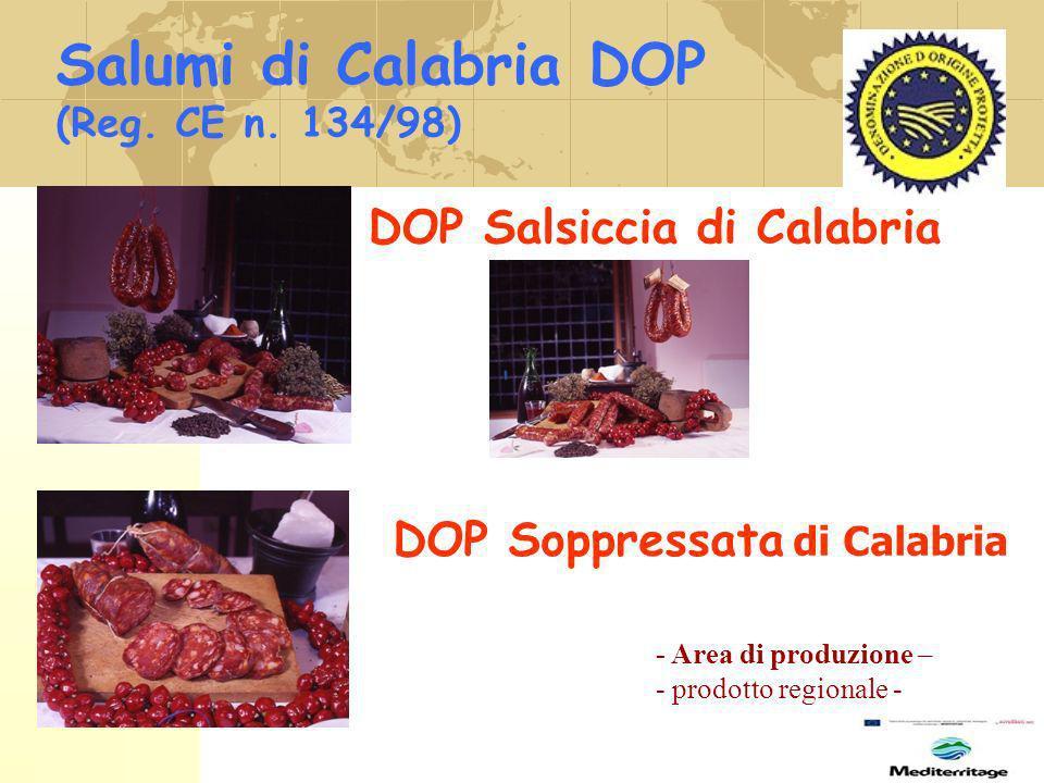 Salumi di Calabria DOP DOP Salsiccia di Calabria