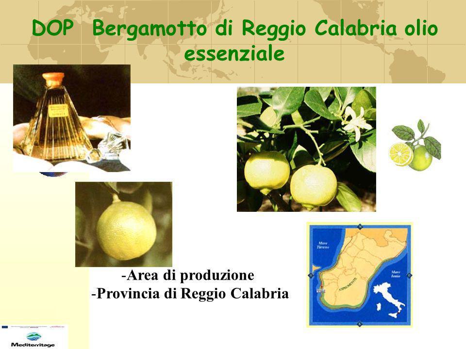 DOP Bergamotto di Reggio Calabria olio essenziale