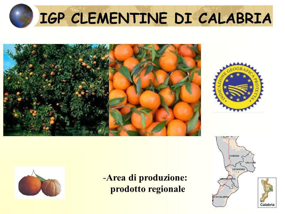 IGP CLEMENTINE DI CALABRIA