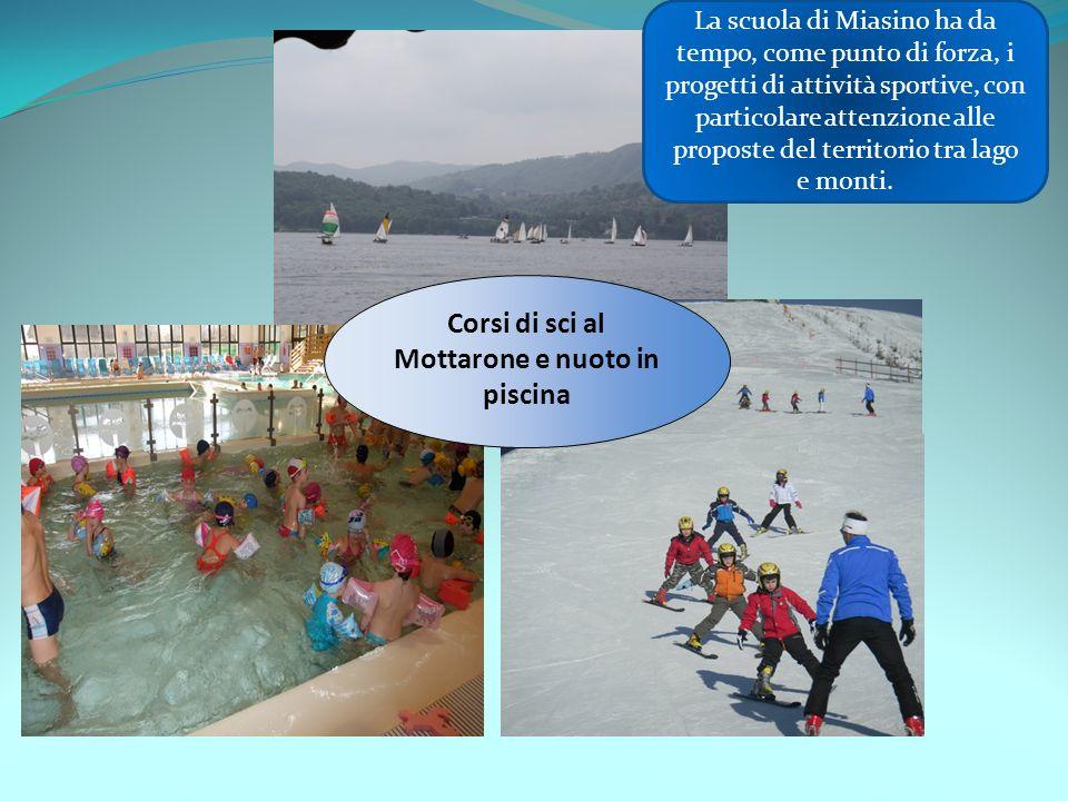 Corsi di sci al Mottarone e nuoto in piscina