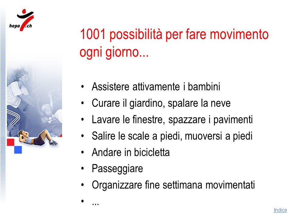 1001 possibilità per fare movimento ogni giorno...
