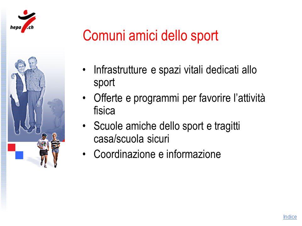 Comuni amici dello sport