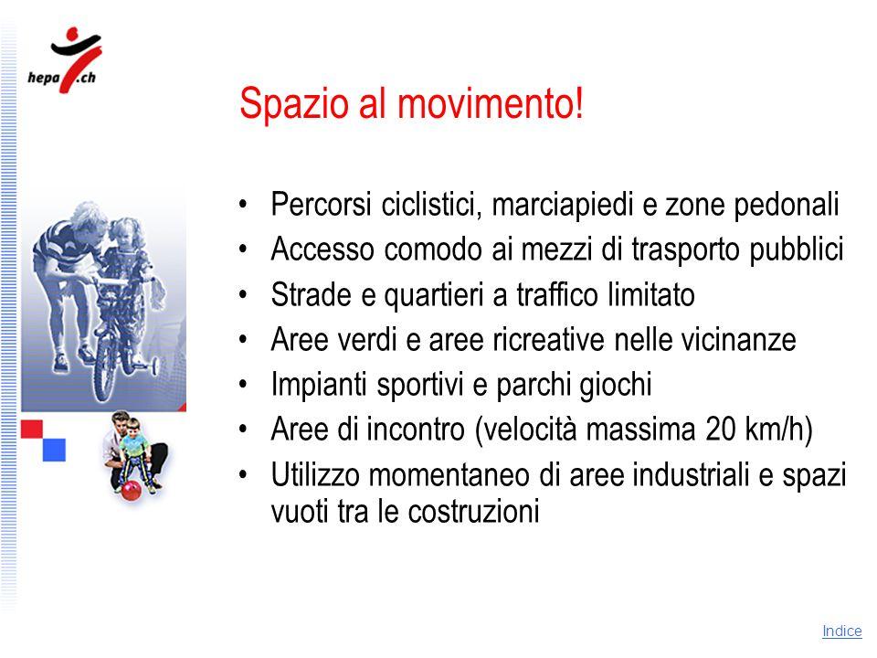 Spazio al movimento! Percorsi ciclistici, marciapiedi e zone pedonali