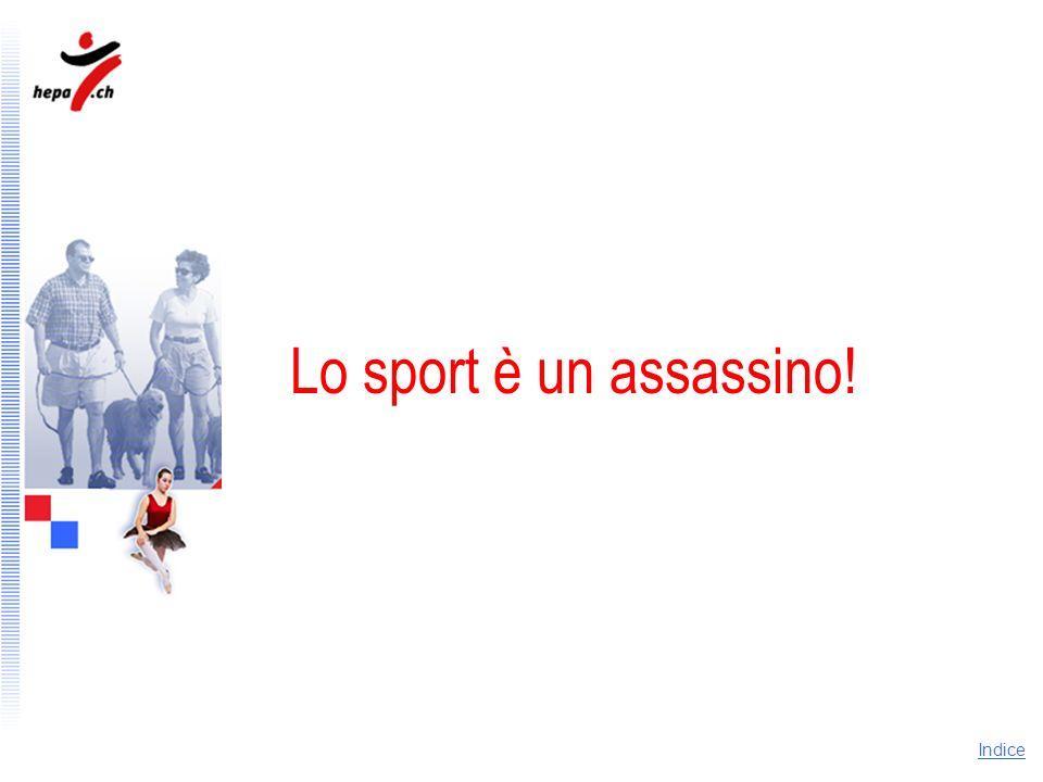 Lo sport è un assassino! Argomentazione: lo sport è un assassino!