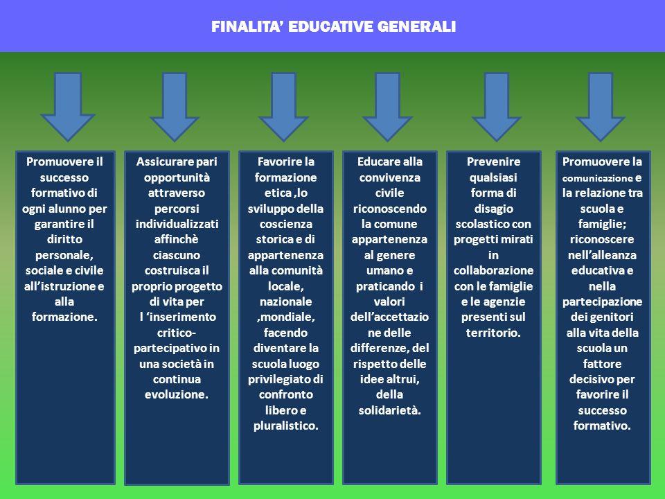 sociale e civile all'istruzione e alla formazione.