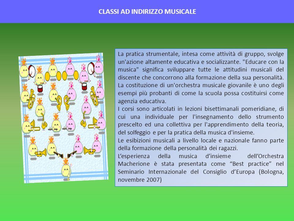 CLASSI AD INDIRIZZO MUSICALE