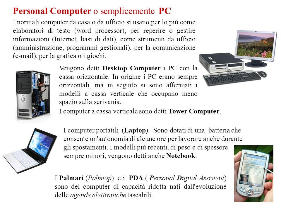Personal Computer o semplicemente PC