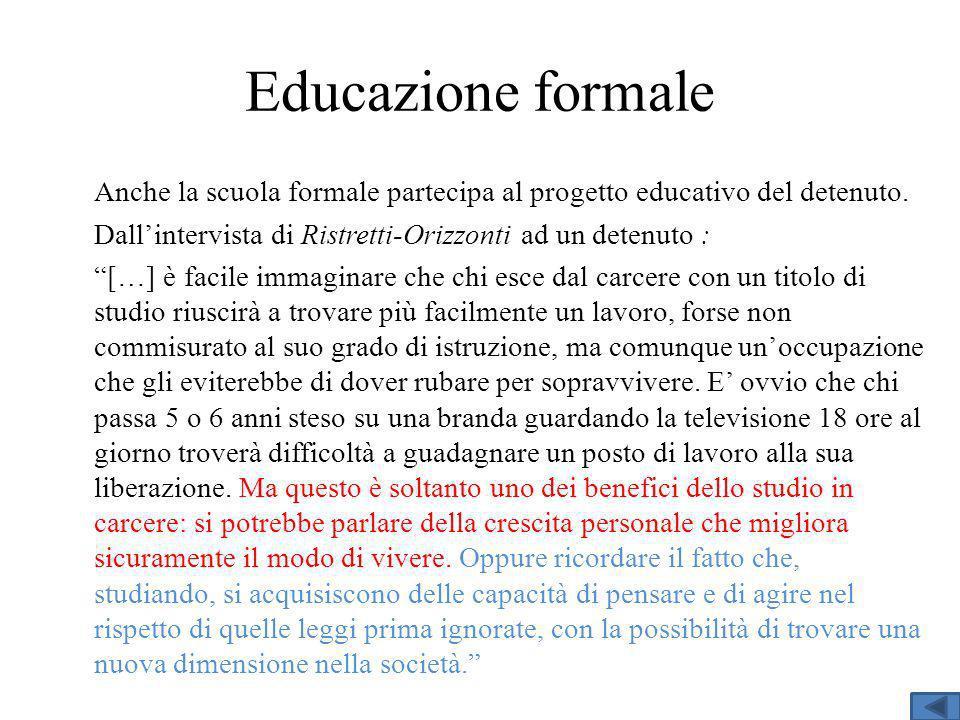 Educazione formale