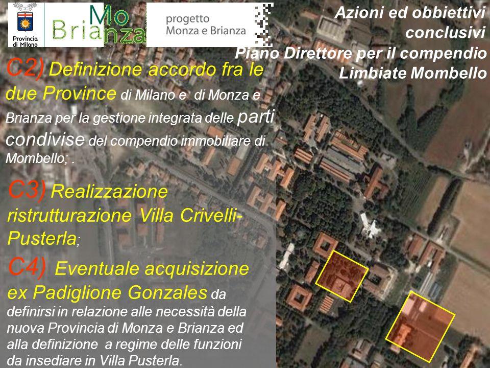 C3) Realizzazione ristrutturazione Villa Crivelli-Pusterla;
