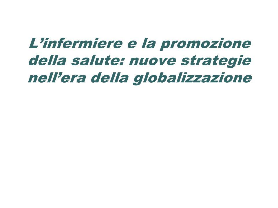 L'infermiere e la promozione della salute: nuove strategie nell'era della globalizzazione
