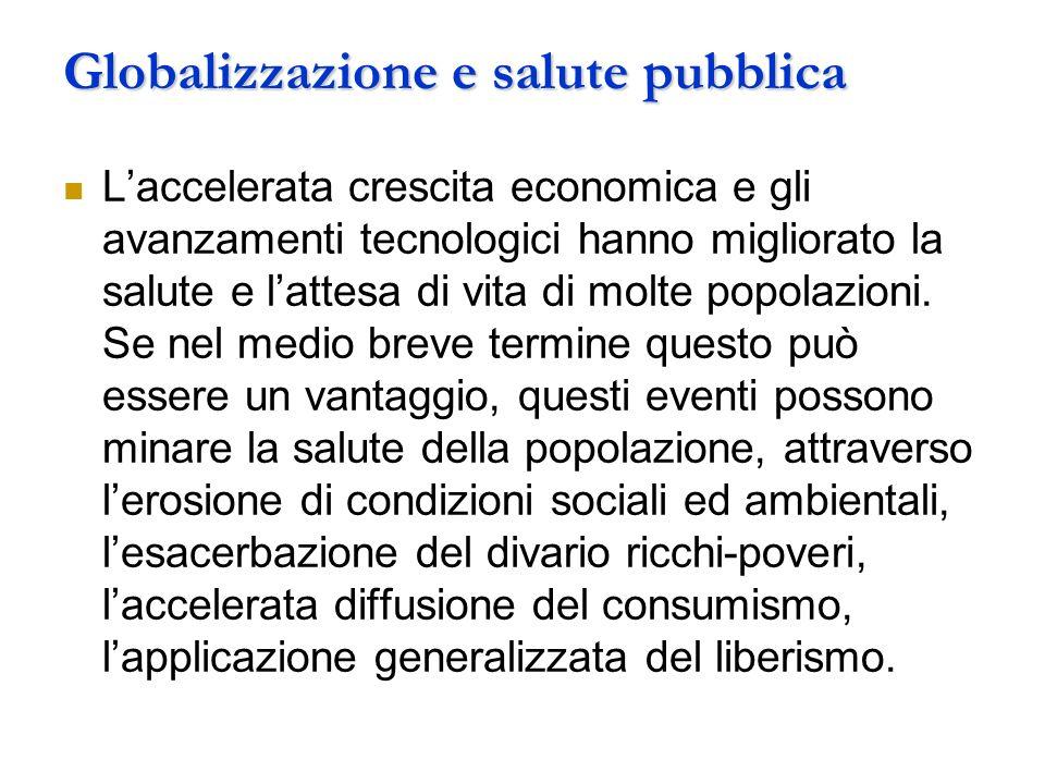 Globalizzazione e salute pubblica