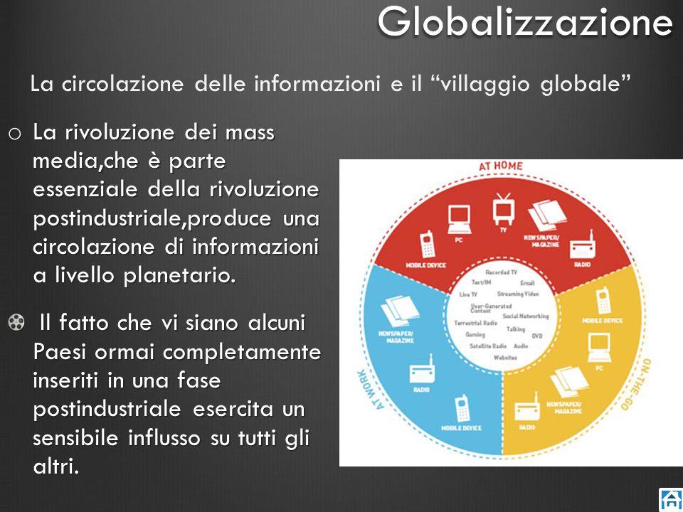 La circolazione delle informazioni e il villaggio globale