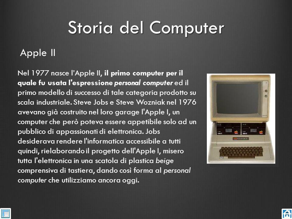 Storia del Computer Apple II