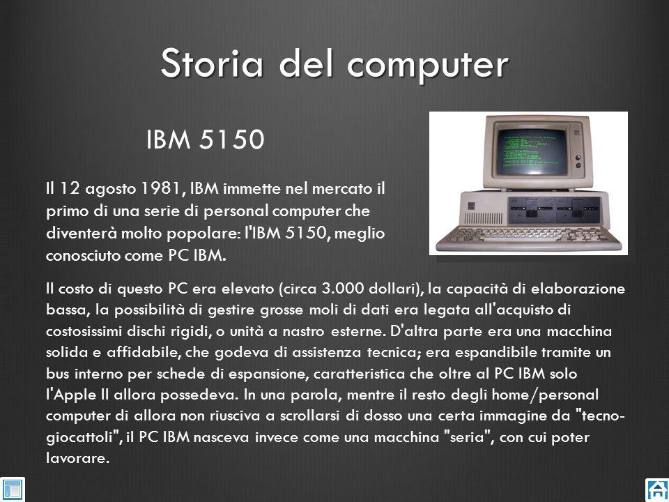 Storia del computer IBM 5150