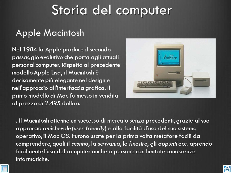 Storia del computer Apple Macintosh
