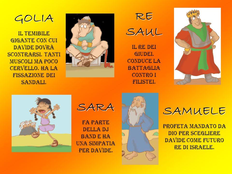 RE SAUL GOLIA SARA SAMUELE