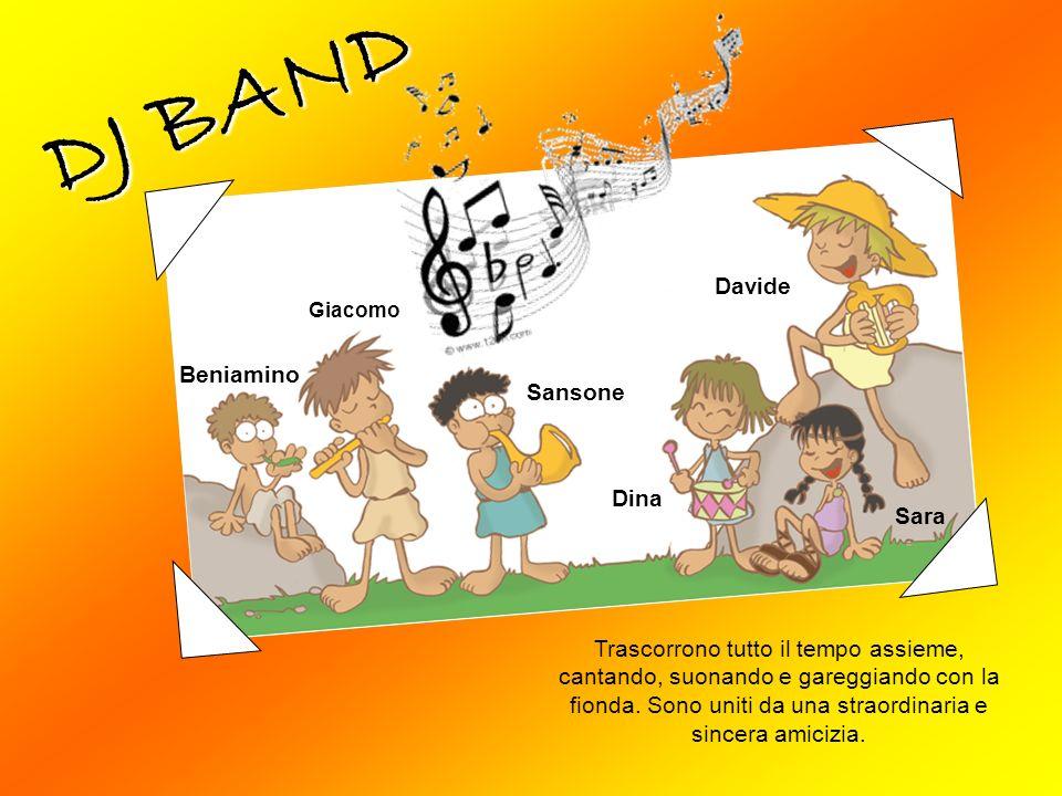 DJ BAND Davide Beniamino Sansone Dina Sara