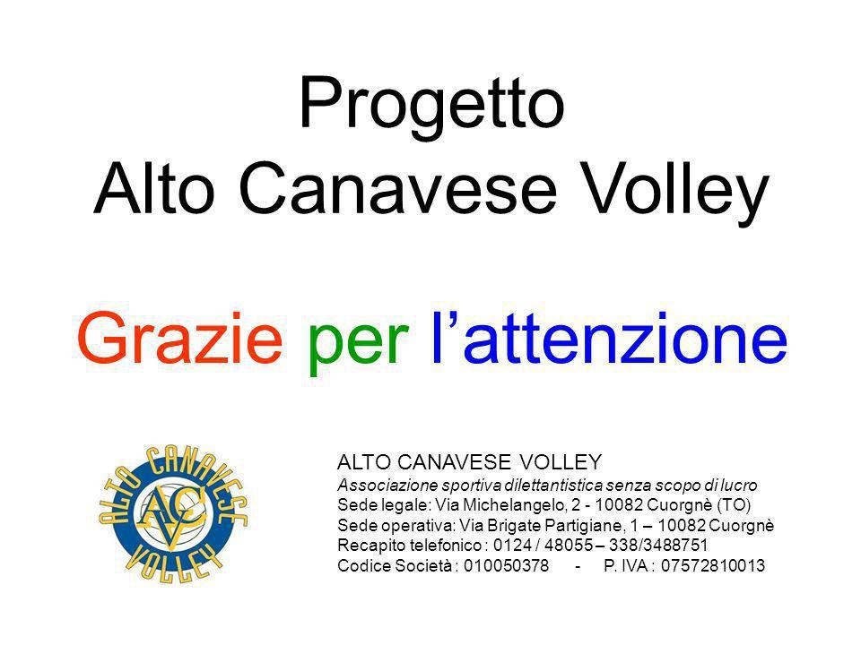 Progetto Alto Canavese Volley