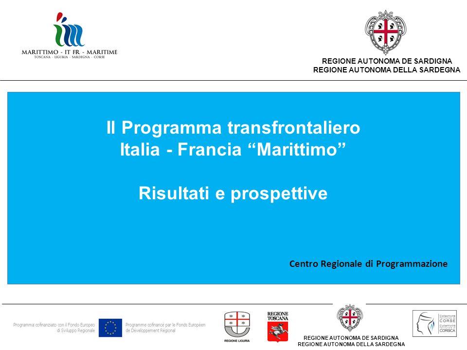 Il Programma transfrontaliero Italia - Francia Marittimo