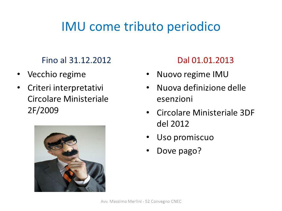 IMU come tributo periodico