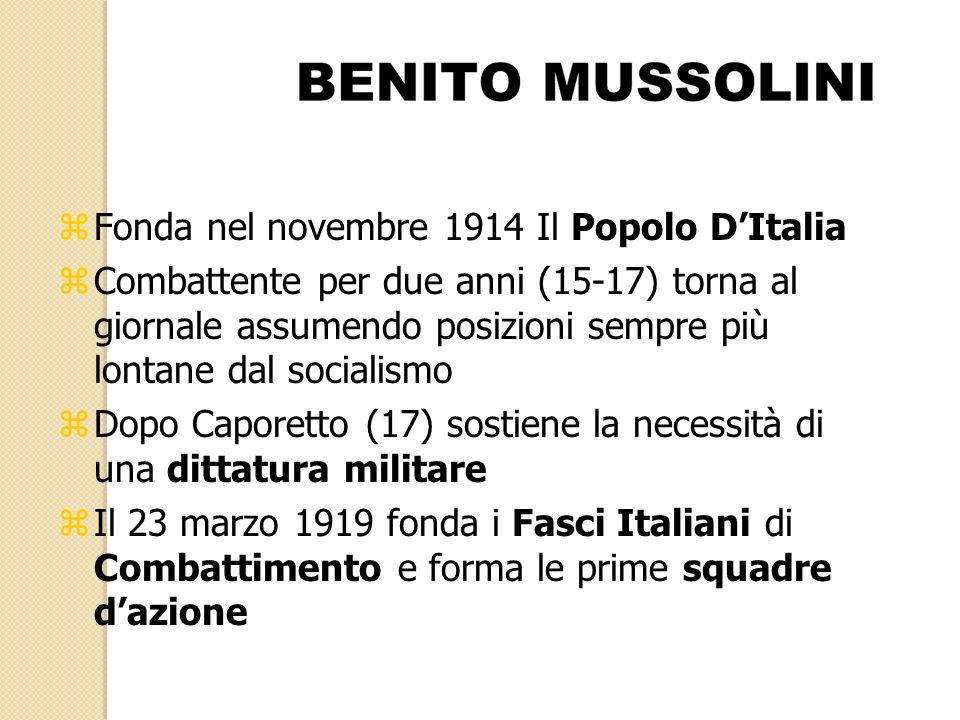 Fonda nel novembre 1914 Il Popolo D'Italia