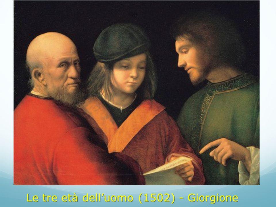 Le tre età dell'uomo (1502) - Giorgione