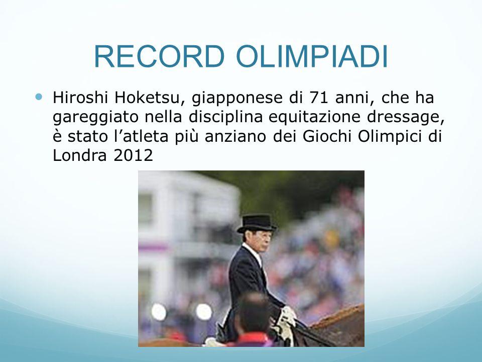 RECORD OLIMPIADI