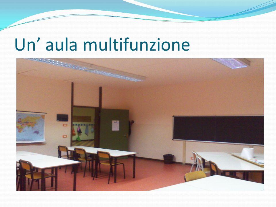 Un' aula multifunzione