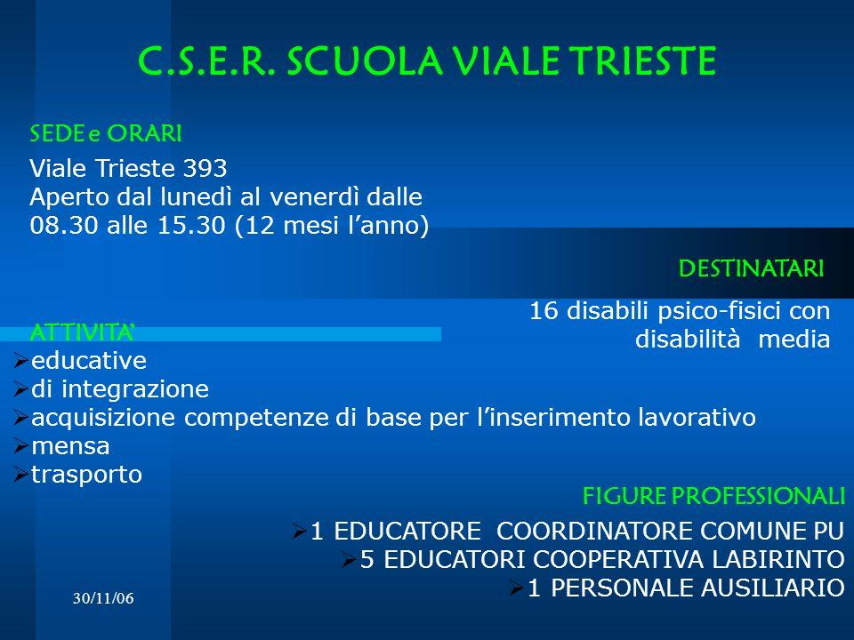 C.S.E.R. SCUOLA VIALE TRIESTE