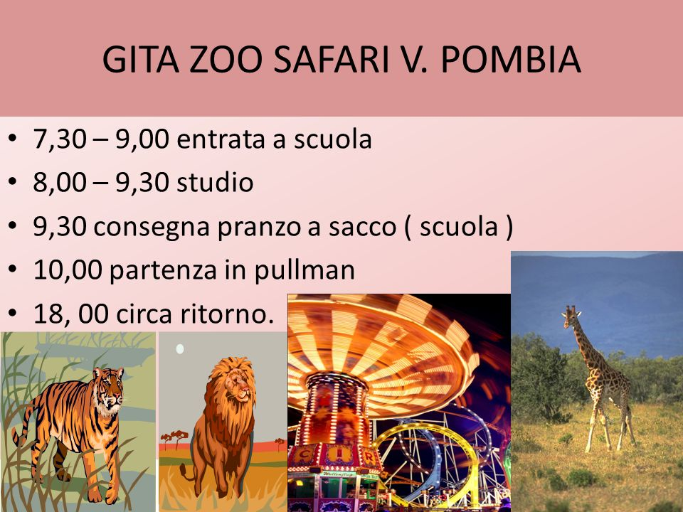GITA ZOO SAFARI V. POMBIA