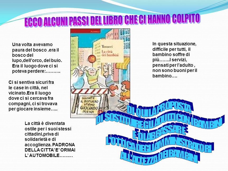 ECCO ALCUNI PASSI DEL LIBRO CHE CI HANNO COLPITO